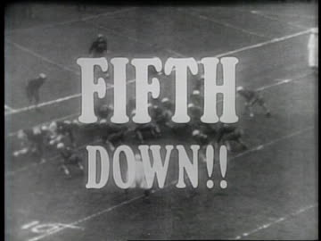 stockvideo's en b-roll-footage met score reversed after illegal fifth down between cornell and dartmouth at memorial field in hanover, new hampshire / slow motion shot of the fifth... - 40 seconds or greater