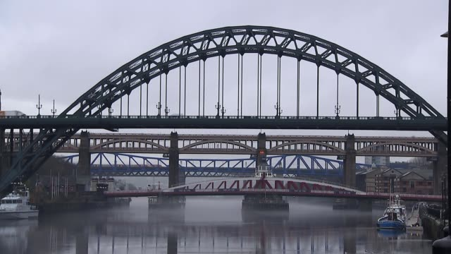 scores of clubs identified in the child sex abuse allegations england tyne and wear newcastle upon tyne ext tyne bridge and other bridges in... - tyne bridge stock videos & royalty-free footage