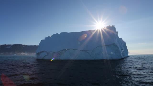 scoresby sound landscape - arktis stock-videos und b-roll-filmmaterial