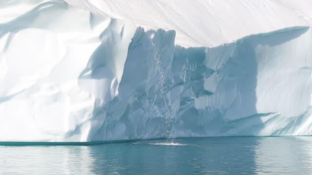 vidéos et rushes de scoresby sound landscape - arctique