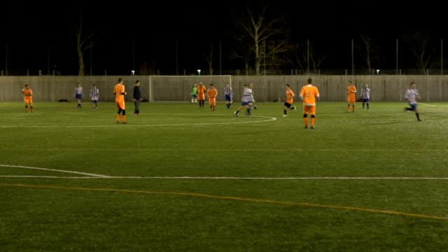 Scoring a goal in a Soccer / Football Match