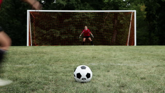 scoring a goal - chatham new york state stock videos & royalty-free footage