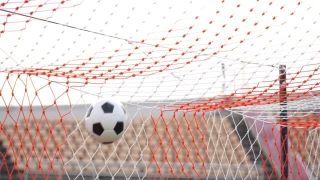 scoring a goal - soccer goal stock videos & royalty-free footage
