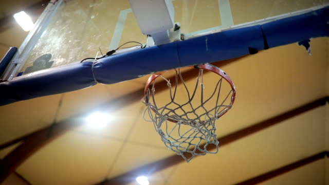 scoring and getting points - basketball ball stock videos & royalty-free footage