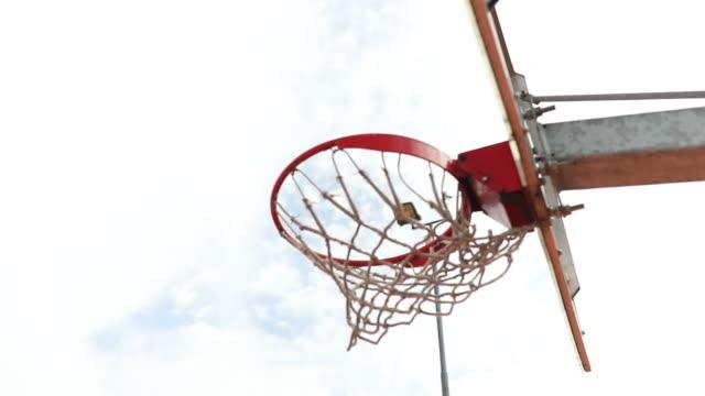 scoring i basket - basketboll boll bildbanksvideor och videomaterial från bakom kulisserna