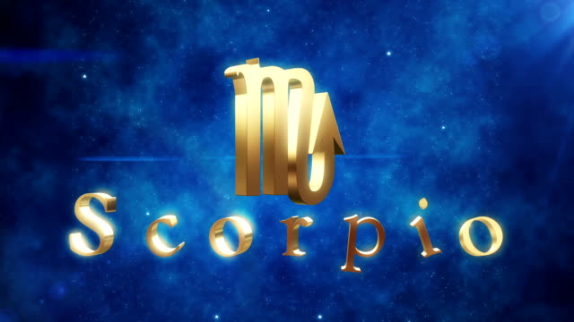 scorpio (zodiac air sign) | loopable - cancer astrology sign stock videos and b-roll footage