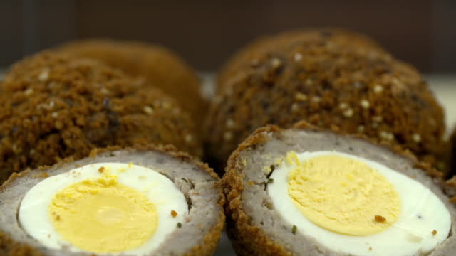 "scotch eggs - ""bbc universal"" stock videos & royalty-free footage"