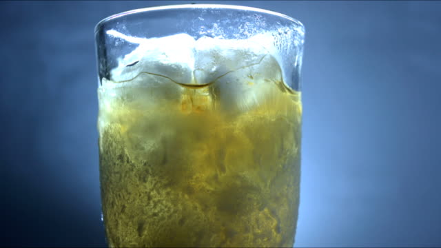 scotch on the rocks - scotch whiskey stock videos and b-roll footage