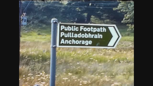 public footpath sign - directional sign stock videos & royalty-free footage