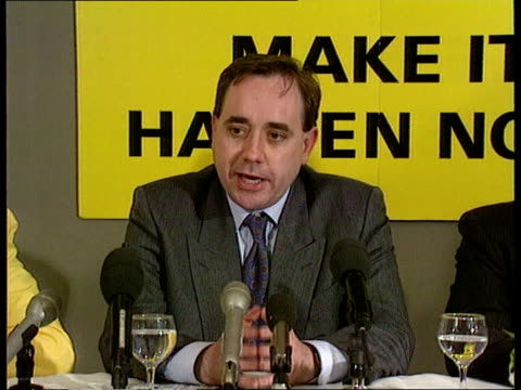 scotland cms snp ldr alex salmond and others at pkf ms ditto cms alex salmond pkf sof scottish people have opportunity at district elections to show... - alex salmond stock videos & royalty-free footage