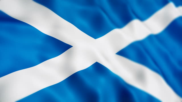 scotland flag - politics illustration stock videos & royalty-free footage