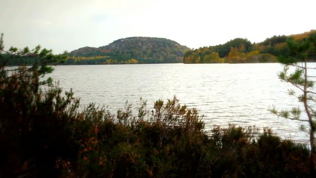 Scotland lake fall time lapse