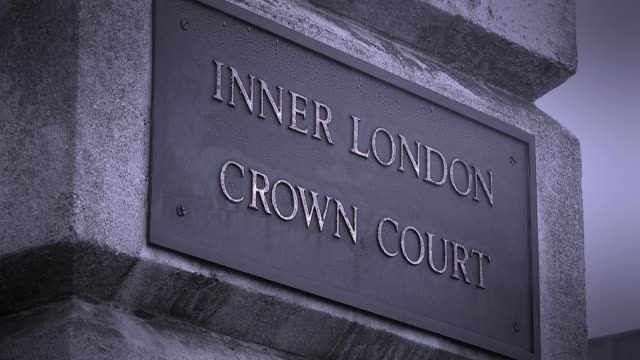 Scotland Yard examining upcoming rape trials after collapse of two recent prosecutions Various views of Inner London Crown Court Reporter to camera...