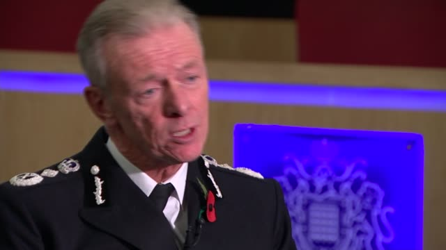 scotland yard vip paedophile ring investigation criticised in report int sir bernard hoganhowe interview sot we generally do good things occasionally... - pedophilia stock videos and b-roll footage