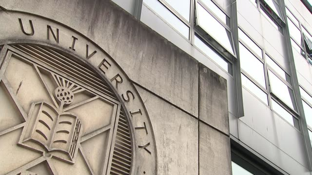 scotland's universities to guarantee places for care leavers who meet minimum standards scotland int amybeth miah interview sot various shot of... - university stock videos & royalty-free footage