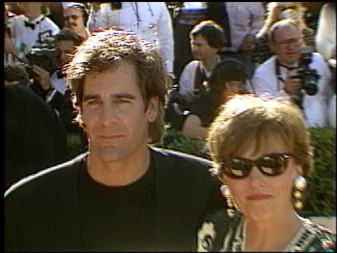 Scott Bakula at the 1993 Emmy Awards entrances and Press Room at the Pasadena Civic Auditorium in Pasadena California on September 19 1993
