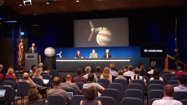 Scott Bolton Juno principal investigator at the Southwest Research Institute Apple's vice president of Content and Media Apps Robert Kondrk and Juno...