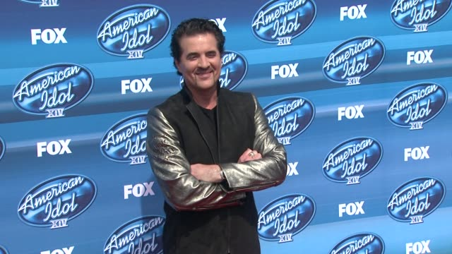 scott borchetta at the american idol xiv grand finale arrivals at dolby theatre on may 13 2015 in hollywood california - american idol stock videos and b-roll footage