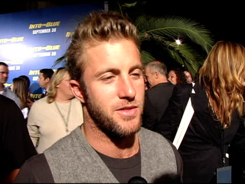 Scott Caan on being compared to Scott Speedman on how much time the cast spent in the water on being sick of being in the water by the end of filming...