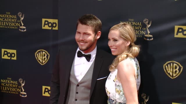 Scott Clifton at 42nd Annual Daytime EMMY Awards at Warner Bros Studios on April 26 2015 in Burbank California