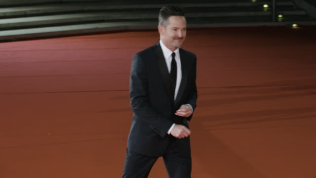 scott cooper at 'hostiles' red carpet rome film fest on october 26 2017 in rome italy - rome film fest stock videos and b-roll footage