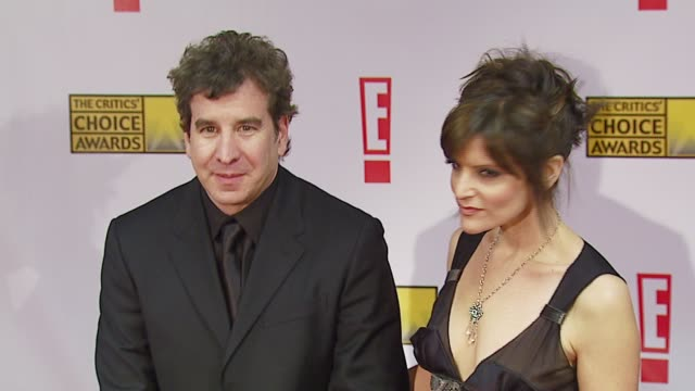 scott cutler and ann previn at the broadcast film critics association's 2007 critic's choice awards at santa monica civic auditorium in santa monica... - broadcast film critics association stock videos & royalty-free footage