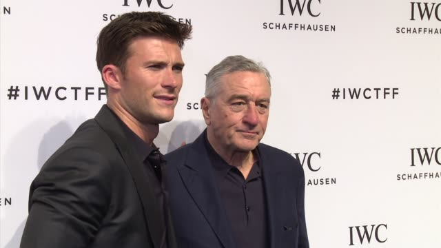 Scott Eastwood and Robert De Niro at IWC Schaffhausen Fourth Annual For the Love of Cinema Gala During The Tribeca Film Festival 2016 at Spring...