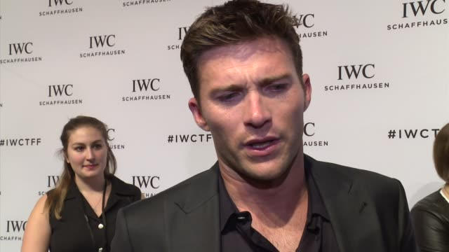 INTERVIEW Scott Eastwood talks about IWC and his late friend Paul Walker at IWC Schaffhausen Fourth Annual For the Love of Cinema Gala During The...