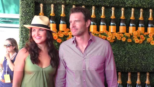 Scott Foley at the sixth annual Veuve Clicquot Polo Classic at Will Rogers Historic State Park in Pacific Palisades at Celebrity Sightings in Los...