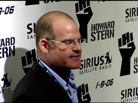 scott greenstein president of entertainment and sports sirius at the howard stern last day live event arrivals and inside at hard rock cafe in new... - hard rock cafe stock videos & royalty-free footage