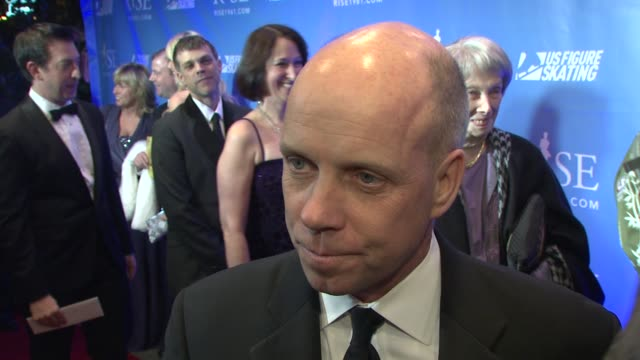 scott hamilton on being out tonight, on the importance of the film, the celebration and commemoration of the 1961 tragedy. on why he wanted to be a... - storyteller stock videos & royalty-free footage