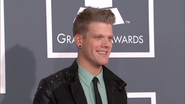 scott hoying at the 55th annual grammy awards arrivals in los angeles ca on 2/10/13 - grammy awards stock videos and b-roll footage