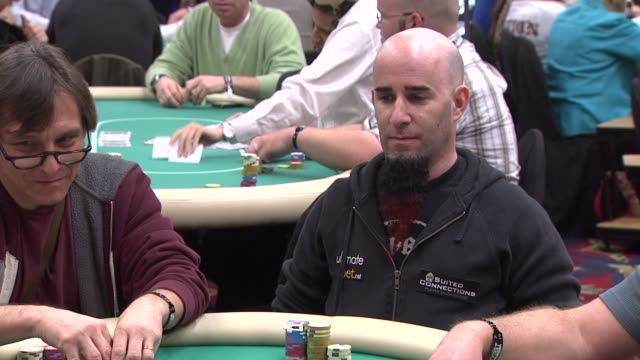 Scott Ian at the 7th Annual World Poker Tour Invitational at Los Angeles CA