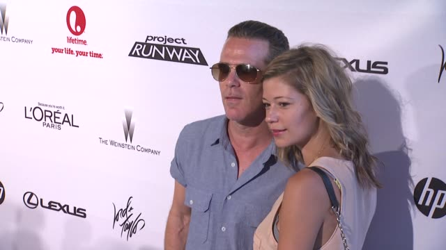 scott lipps and guest at project runway 10th anniversary party at highline on july 17 2012 in new york new york - project runway stock videos and b-roll footage