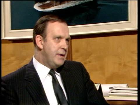 Scott Lithgow Shipyard redundancy fears SCOTLAND Glasgow Scott Lithgow Shipyard EXT High angle shot sof Scott Lithgow shipyard Men working in...