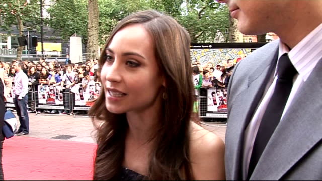 'Scott Pilgrim vs the World' premiere Routh is joined by his wife Courtney Ford Ford and Routh interview SOT Routh is really romantic Would protect...