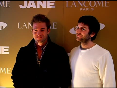 Scott Speedman and Wes Bentley PUBLICIST APPROVAL REQUIRED at the 2007 Sundance Film Festival Jane House Sundance Event at Jane House in Park City...