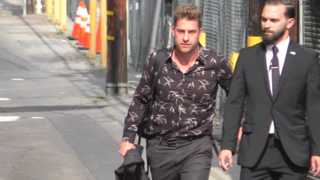 Scott Speedman arriving to Jimmy Kimmel Live in Hollywood in Celebrity Sightings in Los Angeles
