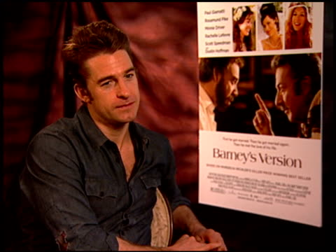 Scott Speedman on doing all the things actors do at the 'Barney's Version' Junket at Los Angeles CA
