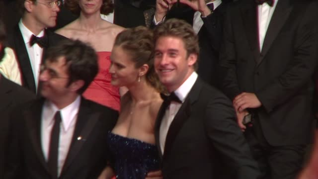 Scott Speedman Rachel Blanchard and Atom Egoyan at the Cannes arrivals for Adoration in Cannes on May 22 2008
