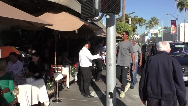 Scottie Pippen shopping in Beverly Hills in Celebrity Sightings in Los Angeles