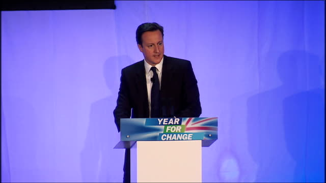 david cameron speech david cameron mp speech continues sot this is the choice that i have made and it's the choice you made four years ago when you... - too small stock videos & royalty-free footage