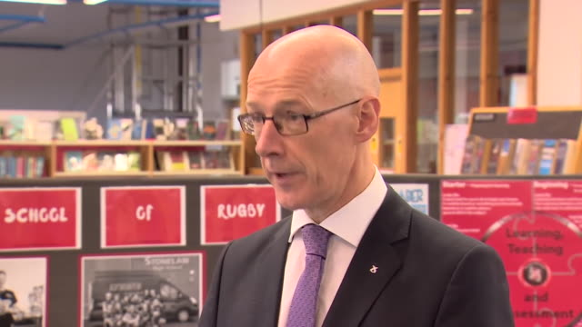 scottish education secretary john swinney saying it has been difficult grading students in scotland after exams were cancelled due to coronavirus but... - problems stock videos & royalty-free footage
