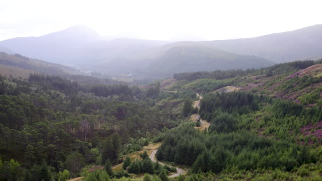 Scottish Highlands Drone