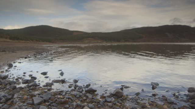 scottish highlands lake - inverness scotland stock videos & royalty-free footage