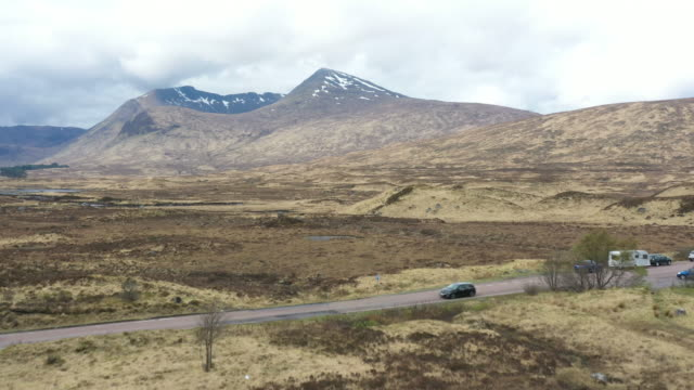 vídeos de stock e filmes b-roll de scottish highlands panorcamic view - hébridas