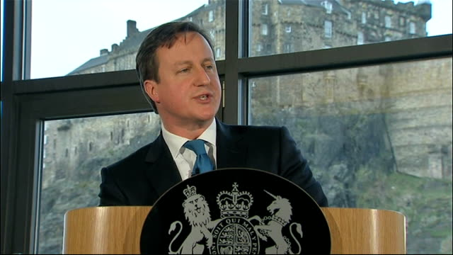 david cameron speech david cameron speech continued sot so more than a little humility is called for when any contemporary tory speaks in scotland in... - humility stock videos and b-roll footage