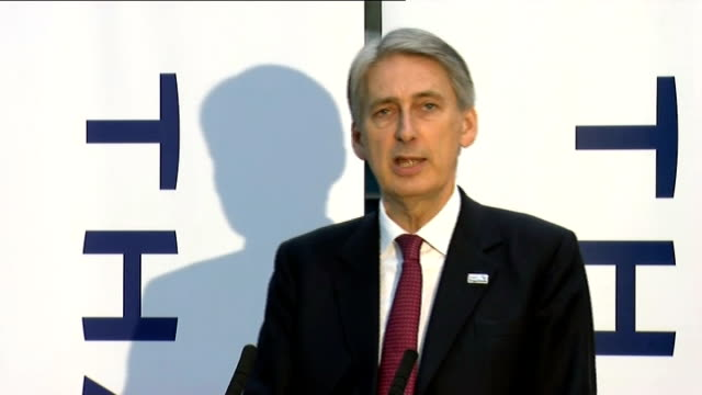 defence secretary speech hammond speech sot frankly that is a position in which many of our international partners and allies would like to be but... - military recruit stock videos and b-roll footage