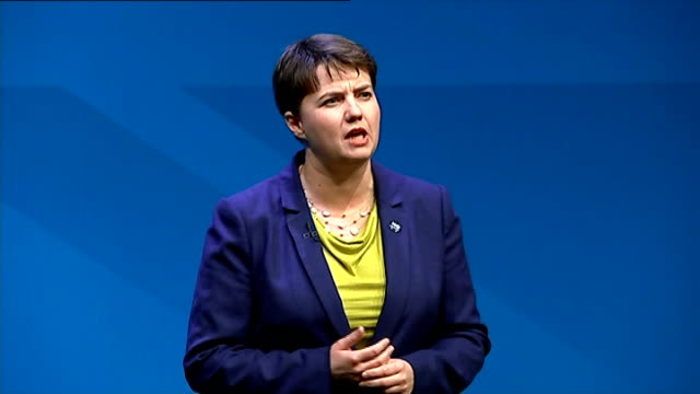 David Cameron speech SCOTLAND Aberdeen INT Ruth Davidson speech SOT