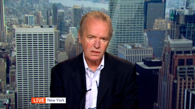 Martin Amis and Irvine Welsh debate LIVE Reporter to camera Martin Amis LIVE 2WAY interview from New York SOT Irvine Welsh LIVE 2WAY interview from...